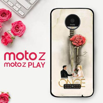 Once Upon A Time Rose X3423  Motorola Moto Z Play Case