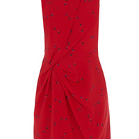 Cherry Pop Twist Front Dress
