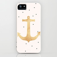 Anchors Away iPhone & iPod Case by Pink Berry Pattern