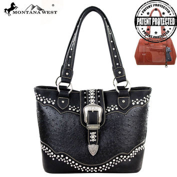 Montana West MW189G-8317 Concealed Carry Handbag