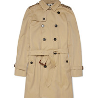 Burberry London Cotton-Gabardine Trench Coat | MR PORTER