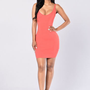 Rayleen Dress - Tomato