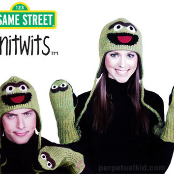 OSCAR THE GROUCH KNITWITS
