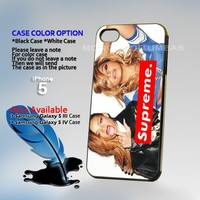 Beyonce Supreme, Print on Hard Cover iPhone 5 Black Case
