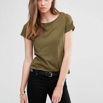 J.D.Y Wide Neck T-Shirt