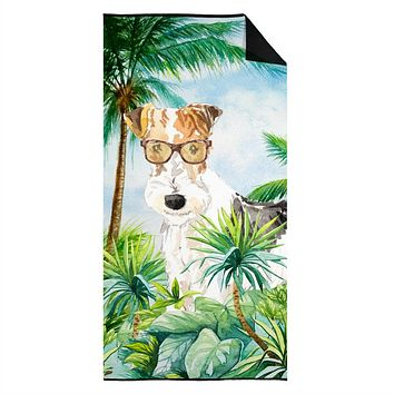 Fox Terrier Premium Beach Towel CK2991TWL3060