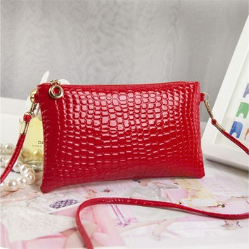 Women's Crocodile Pattern Shoulderbags Handbags [10198322695]