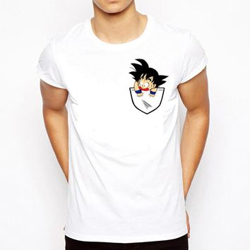 Dragon Ball T Shirt Men Summer Dragon Ball Z super son goku Slim Fit Cosplay 3D T-Shirts anime vegeta DragonBall Tshirt Homme