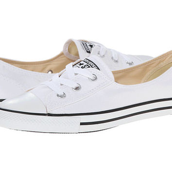 Converse Chuck Taylor® All Star® Ballet Lace Slip White - Zappos.com Free Shipping BOTH Ways
