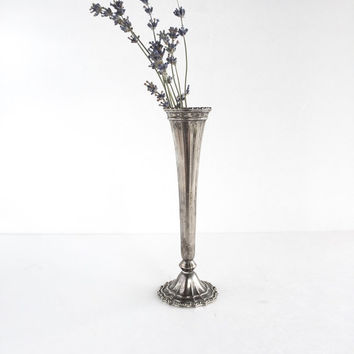 Vintage Avon Silverplate Vase Made in Italy