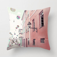 "street party - 20x20"" pillow cover"