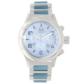 Invicta 15478 Men's Russian Diver Off Shore Platinum Dial Steel Bracelet Chronograph Dive Watch