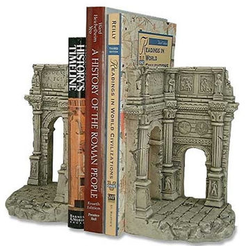 Roman Triumphal Arch of Septimus Severus Bookends 7H - 5084
