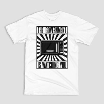Your Microwave Is Watching You - Propaganda Style - Unisex T-Shirt