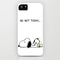 No, not today. iPhone & iPod Case by John Medbury (LAZY J Studios)