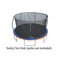 15ft. w/6 Sleeves Replacement Trampoline Safety Net