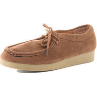 Tan lace-up shoes - Dorothy Perkins