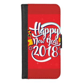 Happy New Year iPhone 8/7 Wallet Case