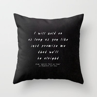 Mumford & Sons - Ghosts That We Knew II Throw Pillow by Zyanya Lorenzo | Society6