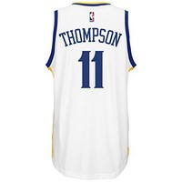 Klay Thompson Men's White Golden State Warriors adidas Swingman Jersey