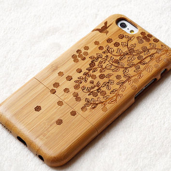 natural Wood iPhone case, iphone 6/6plus wood case, iphone 5 case, iphone 5c case,iphone 4 case, wood case, iphone case, gift