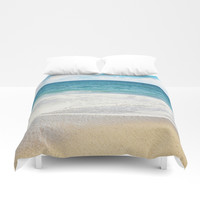 beach vibes Duvet Cover by sylviacookphotography