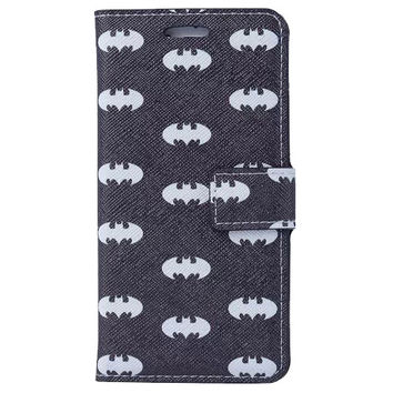 Batman Pattern Wallet S Case Premium Wallet Case with STAND Flip Cover for Samsung Galaxy S5