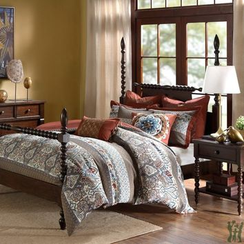 Madison Park Signature Antiquity Comforter Set - Spice