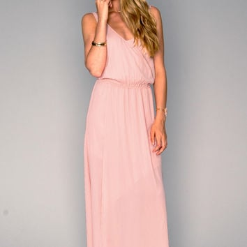 Show Me Your mumu Kendall Maxi Dress ~ Frosty Pink