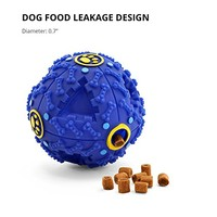 FurryFido Treat Dispensing Dog Toy- Smart Interactive IQ Ball (M) | furryface