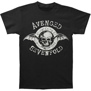 Avenged Sevenfold Men's  AVS Origins Mens Regular T T-shirt Black