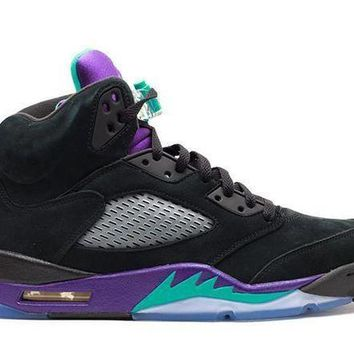 Air Jordan 5 Retro Black Grape - Beauty Ticks
