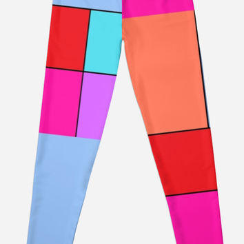 "'""geometric art 431""' Leggings by BillOwenArt"