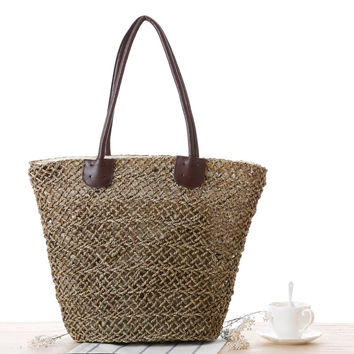 Hollow Out Beach Shoulder Bags [6580705479]