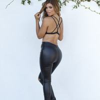 Gas Pedal Leggings - Black