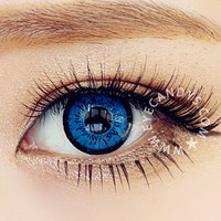 EOS Dollyeye Blue Colour Contact Lenses | EyeCandy's