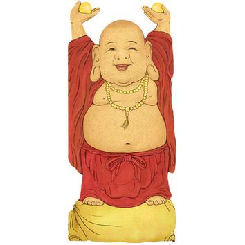 PHILOSPHERS GUILD LAUGHING BUDDHA CARD