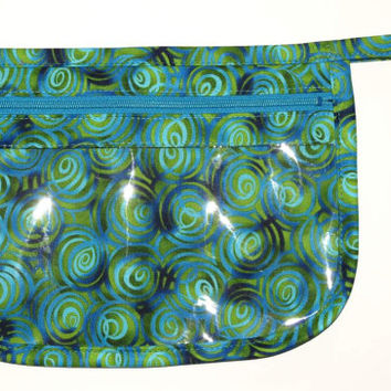 See-Through Window Pouch, Zippered Bag