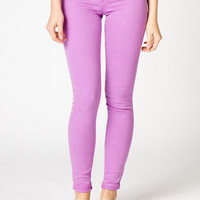Lavender Skinny Jeans | a-thread