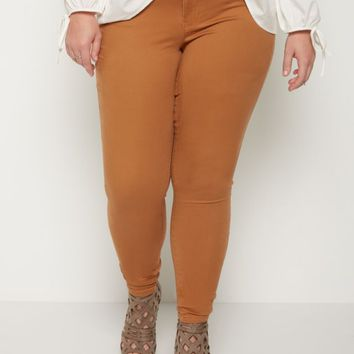 Plus Camel Soft Mid Rise Jegging | Plus Pants | rue21