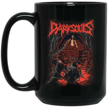Chaos Witch Dark Souls T-Shirt-01 BM15OZ 15 oz. Black Mug
