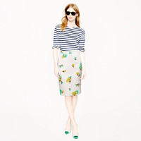 Collection No. 2 pencil skirt in tossed carnations - pencil - Women's skirts - J.Crew