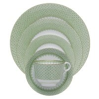 MOTTAHEDEH Green Apple Lace Dinnerware Collection