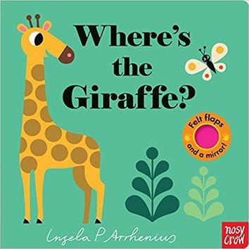 Where's the Giraffe? Board book – March 28, 2017