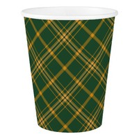 Christmas Plaid 13-PAPER CUPS
