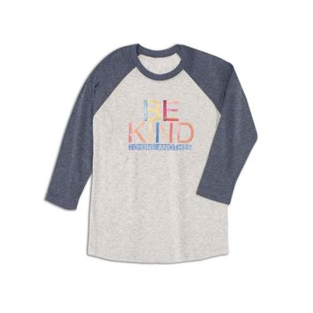 ED Be Kind to One Another Baseball Tee