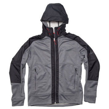 MS003 HOODED FLEECE JACKET