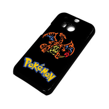 POKEMON CHARMANDER HTC One M8 Case Cover