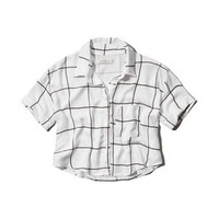 Abercrombie & Fitch Lindsey Cropped Shirt