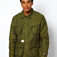 Undefeated Field Jacket Combat Print